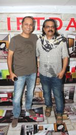Vipul Amrutlal Shah and Ashwini Chaudhary at the bhoomipoojan ceremony of Indian Films and Television Directors Association_s (IFTDA) new office_53f88a403973d.jpg