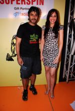 Pooja Chopra, Vikas Bhalla at Gold Gym Super Spin Contest in Bandra, Mumbai on 23rd Aug 2014 (192)_53f9d862f0589.JPG