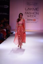 Vaani Kapoor walk the ramp for Payal Singhal at LFW 2014 Day 5 on 23rd Aug 2014 (300)_53faf8bc60dbe.JPG