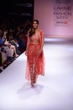 Vaani Kapoor walk the ramp for Payal Singhal at LFW 2014 Day 5 on 23rd Aug 2014 (304)_53faf8c05387b.JPG