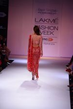 Vaani Kapoor walk the ramp for Payal Singhal at LFW 2014 Day 5 on 23rd Aug 2014 (350)_53faf8fa7bbd3.JPG