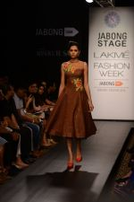 Model walk the ramp for Neha Agarwal at LFW 2014 Day 6 on 24th Aug 2014 (110)_53fc9235eaf6e.JPG