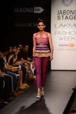 Model walk the ramp for Neha Agarwal at LFW 2014 Day 6 on 24th Aug 2014 (12)_53fc91f88d2a0.JPG