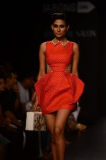 Model walk the ramp for Neha Agarwal at LFW 2014 Day 6 on 24th Aug 2014 (129)_53fc924cb4668.JPG