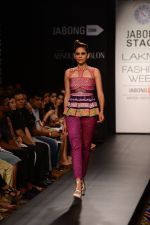 Model walk the ramp for Neha Agarwal at LFW 2014 Day 6 on 24th Aug 2014 (13)_53fc91f9b10f4.JPG