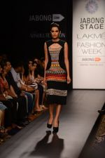Model walk the ramp for Neha Agarwal at LFW 2014 Day 6 on 24th Aug 2014 (25)_53fc92079e25a.JPG