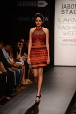 Model walk the ramp for Neha Agarwal at LFW 2014 Day 6 on 24th Aug 2014 (33)_53fc9210a988a.JPG