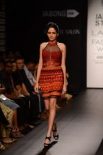 Model walk the ramp for Neha Agarwal at LFW 2014 Day 6 on 24th Aug 2014 (34)_53fc9211b9749.JPG