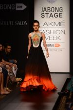 Model walk the ramp for Neha Agarwal at LFW 2014 Day 6 on 24th Aug 2014 (38)_53fc92164023d.JPG