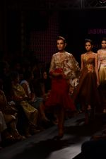 Model walk the ramp for Neha Agarwal at LFW 2014 Day 6 on 24th Aug 2014 (98)_53fc9227336d7.JPG