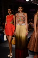 Model walk the ramp for Neha Agarwal at LFW 2014 Day 6 on 24th Aug 2014 (103)_53fc922d49736.JPG