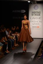 Model walk the ramp for Neha Agarwal at LFW 2014 Day 6 on 24th Aug 2014 (109)_53fc92342570e.JPG