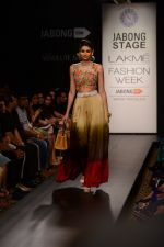 Model walk the ramp for Neha Agarwal at LFW 2014 Day 6 on 24th Aug 2014 (117)_53fc923eb25ae.JPG