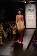 Model walk the ramp for Neha Agarwal at LFW 2014 Day 6 on 24th Aug 2014 (118)_53fc923fea59a.JPG
