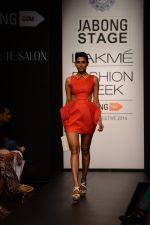 Model walk the ramp for Neha Agarwal at LFW 2014 Day 6 on 24th Aug 2014 (124)_53fc9246986bb.JPG
