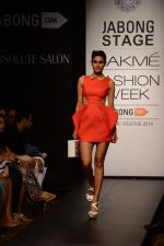 Model walk the ramp for Neha Agarwal at LFW 2014 Day 6 on 24th Aug 2014 (125)_53fc9247c268f.JPG