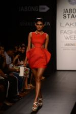 Model walk the ramp for Neha Agarwal at LFW 2014 Day 6 on 24th Aug 2014 (128)_53fc924ba1370.JPG