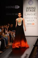 Model walk the ramp for Neha Agarwal at LFW 2014 Day 6 on 24th Aug 2014 (39)_53fc921787f7a.JPG