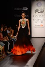 Model walk the ramp for Neha Agarwal at LFW 2014 Day 6 on 24th Aug 2014 (40)_53fc9218a346a.JPG
