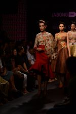 Model walk the ramp for Neha Agarwal at LFW 2014 Day 6 on 24th Aug 2014 (97)_53fc922629137.JPG