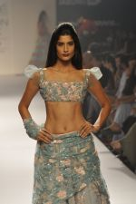Model walk the ramp for Shehla Khan at LFW 2014 Day 5 on 23rd Aug 2014 (145)_53fc91cbba11a.JPG