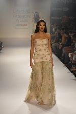 Model walk the ramp for Shehla Khan at LFW 2014 Day 5 on 23rd Aug 2014
