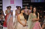 Nargis Fakhri walk the ramp for Anushree Reddy at LFW 2014 Day 5 on 23rd Aug 2014 (46)_53fc8fb761480.JPG