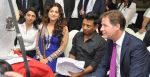Bhavna Talwar, Juhi Chawla, Onir, The Rt Hon Deputy Prime Minister of U.K. Nick Clegg at the Muhurat of the film _Veda__53fdd8cc7790b.JPG
