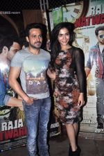 Emraan Hashmi, Humaima Malik at Raja Natwarlal Special Screening in Sunny Super Sound on 26th Aug 2014 (56)_53fe06126b147.JPG