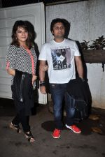Mohit Suri, Udita Goswami at Raja Natwarlal Special Screening in Sunny Super Sound on 26th Aug 2014 (30)_53fe06bf328ec.JPG