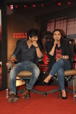Tahir Raj Bhasin, Rani Mukerji at the Media meet of Mardaani in YRF on 26th Aug 2014 (183)_53fe09917de30.JPG