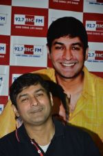 RJ Anirudh at Rishi Kapoor celebrates his birthday at 92.7 BIG FM on 27th Aug 2014 (13)_53fe9c5fb3d48.JPG