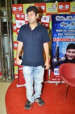 RJ Anirudh at Rishi Kapoor celebrates his birthday at 92.7 BIG FM on 27th Aug 2014 (3)_53fe9c557f1d1.JPG
