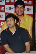 RJ Anirudh at Rishi Kapoor celebrates his birthday at 92.7 BIG FM on 27th Aug 2014 (7)_53fe9c598740d.JPG