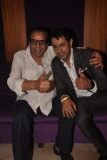 Dharmendra, Gippy Grewal at Double Di Trouble screening in Sunny Super Sound, Mumbai on 29th Aug 2014 (42)_5401e7e35389d.JPG
