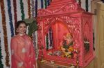 Narmada Ahuja at Govinda_s Ganpati celebration in Mumbai on 29th Aug 2014  (10)_54013999df085.JPG