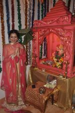 Narmada Ahuja at Govinda_s Ganpati celebration in Mumbai on 29th Aug 2014  (6)_540139943b66b.JPG