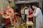 Neil Mukesh and Nitin Mukesh at Ganpati celebration in Mumbai on 29th Aug 2014 (51)_5401351bc5e91.JPG