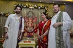 Neil Mukesh and Nitin Mukesh at Ganpati celebration in Mumbai on 29th Aug 2014 (58)_5401352018817.JPG