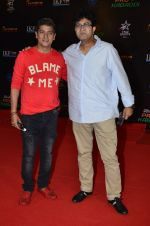 Parsoon Joshi, Aadesh Shrivastava at Pro Kabaddi league Semi Finals in Mumbai on 29th Aug 2014 (35)_540143442fb3f.JPG
