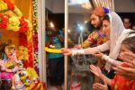 Divyanka Tripathi with Sharad Malhotra at Ganpati Celabration in Mumbai on 31st Aug 2014 (109)_54041bb850b73.JPG