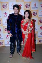 Deepika Singh, Anas Rashid at Diya Aur Bati celebrations and Ek Rishta Aisa Bhi press meet in Mira Road, Mumbai on 1st Sept 2014 (83)_540568d5cf564.JPG
