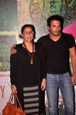 Homi Adajania, Dimple Kapadia at Finding fanny special screening in Mumbai on 1st Sept 2014 (95)_54057340c9980.JPG