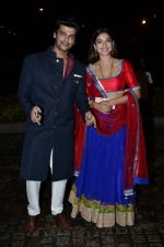 Gauhar Khan, Kushal Tandon at Nikitan Dheer wedding reception in ITC Grand Maratha on 3rd Sept 2014 (212)_5408630b70c65.JPG