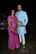 Rohit Roy, Manasi Joshi Roy at Nikitan Dheer wedding reception in ITC Grand Maratha on 3rd Sept 2014 (162)_54086596ba9c1.JPG