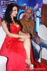 Shanti Dynamite and actor Ranjeev Bugga at the first look launch of the movie _I Love Dubai__5407f549a3e4d.JPG