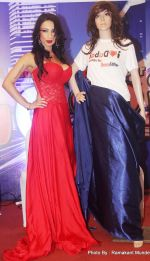 Shanti Dynamite posing at the first look launch of the movie _I Love Dubai__004 (1)_5407f54b369f2.JPG