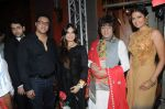 Mohamed & Lucky Morani with Rohit Verma nad Priyanka Shah at Designer Manali Jagtap Engagement in JW Marriott on 6th Sept 2014_540c50399d7c6.JPG