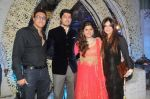 Mohamed 7 Lucky Morani with Manali Jagtap and Vicky Soor at Designer Manali Jagtap Engagement in JW Marriott on 6th Sept 2014_540c50232a6a9.JPG