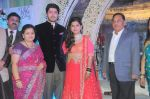 Neelam Rane, Vicky Soor, Manali Jagtap with Narayan Rane at Designer Manali Jagtap Engagement in JW Marriott on 6th Sept 2014_540c5024975cf.JPG